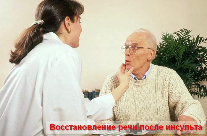 Как восстановить речь после инсульта – упражнения, видео