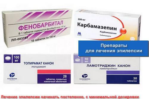 Препараты для лечения эпилепсии