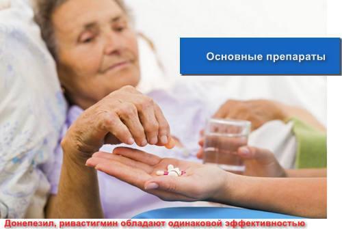 Основные препараты