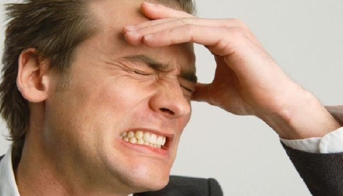 Причины головной боли в лобной части головы