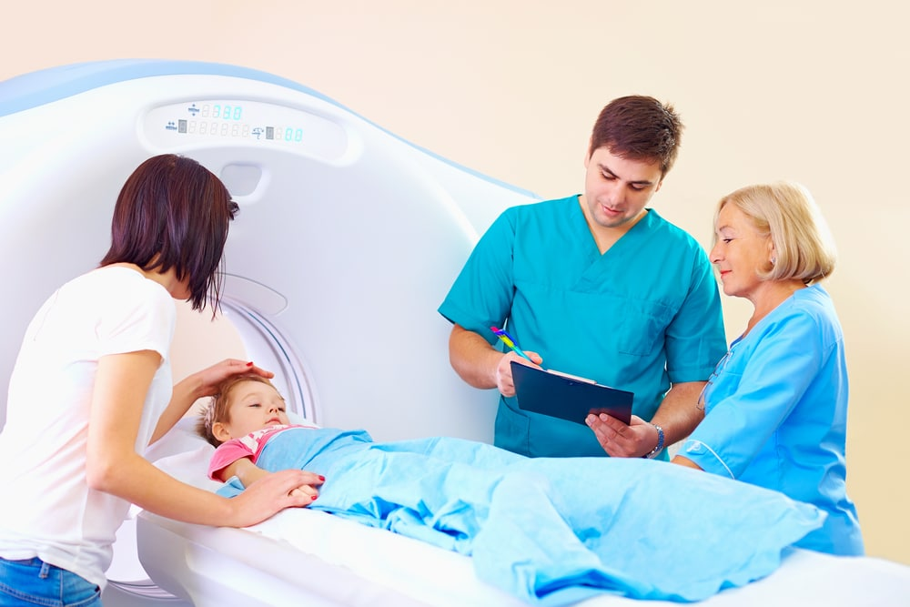 исследование внутричерепной гипертензии с помощью томографа
