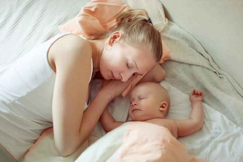 Дневной сон у грудничка