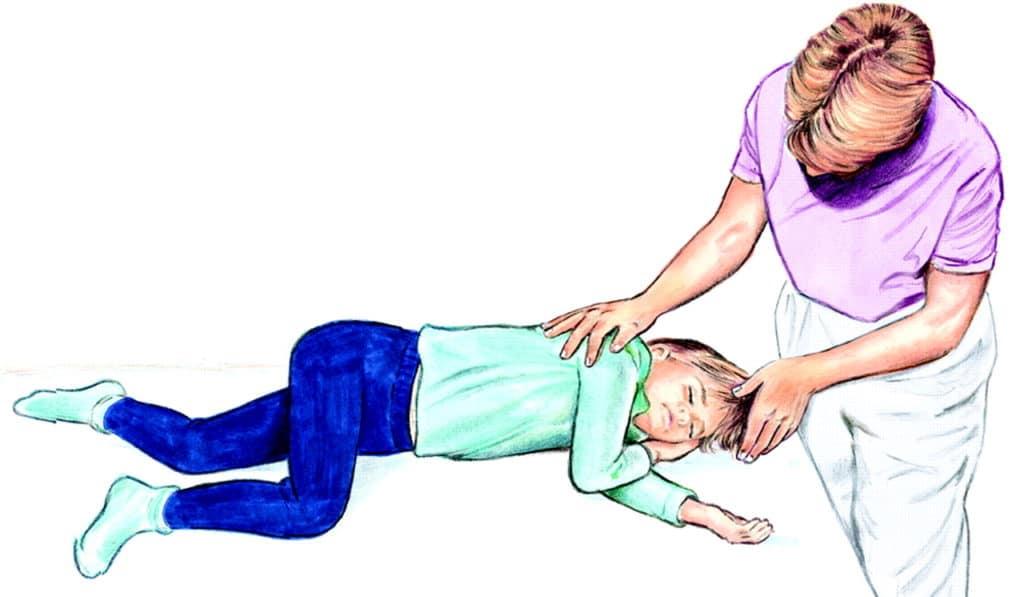 Первая помощь при клонических судорогах