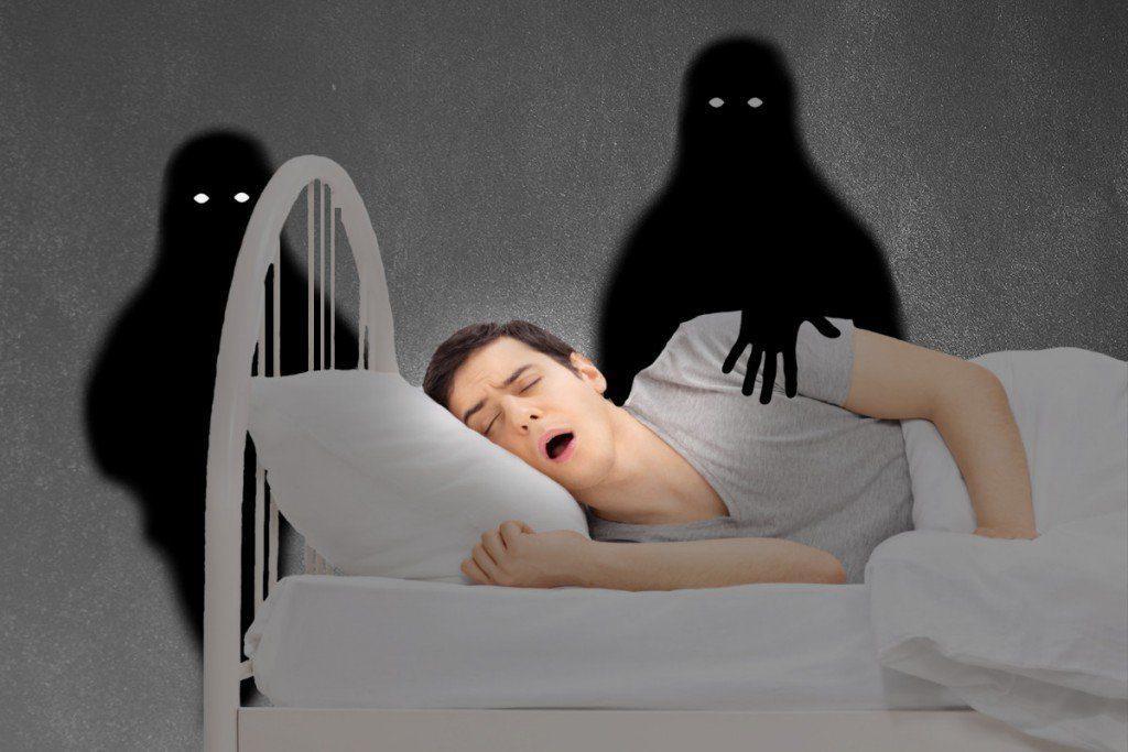 Состояние сонного паралича