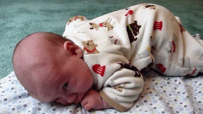 Судороги у новорожденных